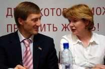 Alexander Zhivaykin and Irina Chazova, Samara, 21 May 2011