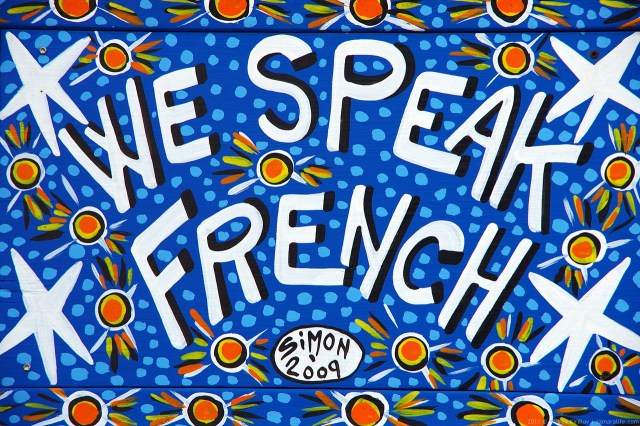 We speak French